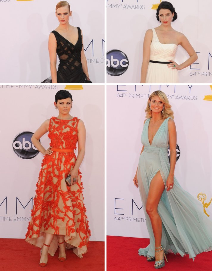 bridal beauty inspiration from 2012 Emmys wedding hair makeup celeb inspired 2