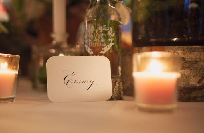 weddings by style Parisian romance wedding decor inspiration escort cards