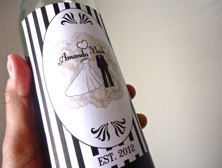 5 easy ways to personalize the wedding DIY weddings custom wine labels