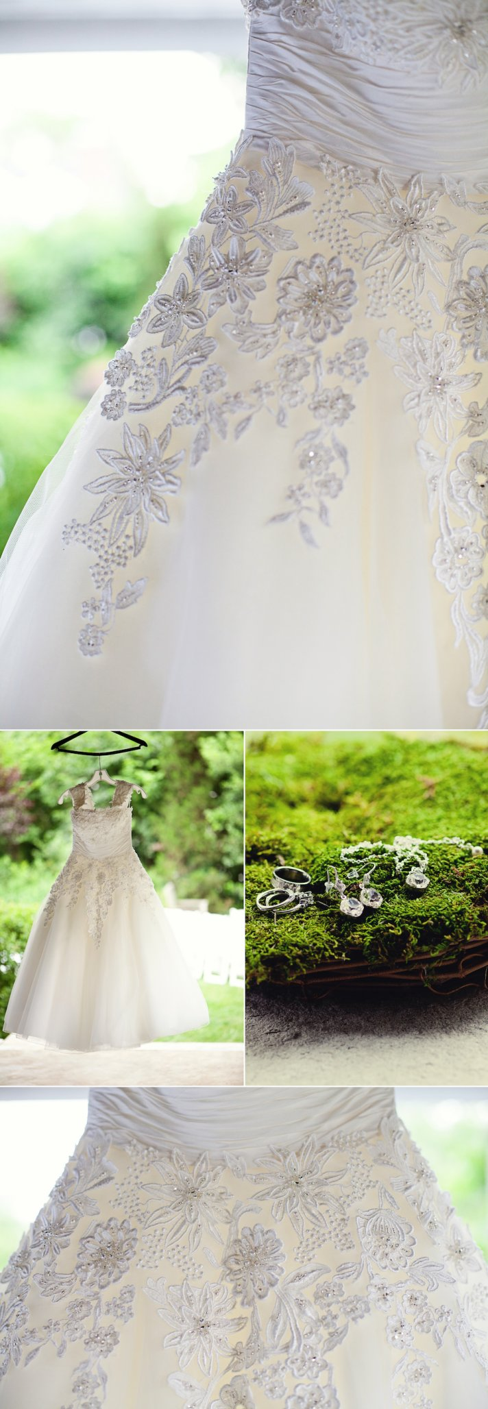 Kansas City Wedding - Beautifully Embellished Wedding Dress