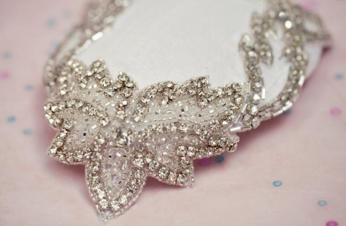 bejeweled bride wedding accessories bridal fascinator
