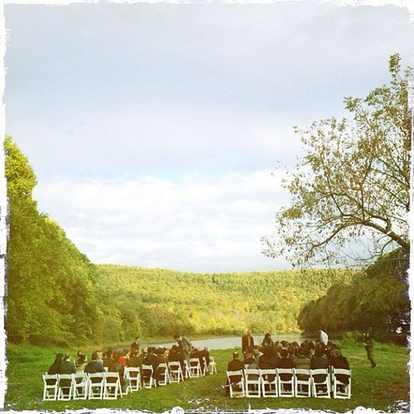 real wedding amber tamblyn david cross upstate new york instagram ceremony 2