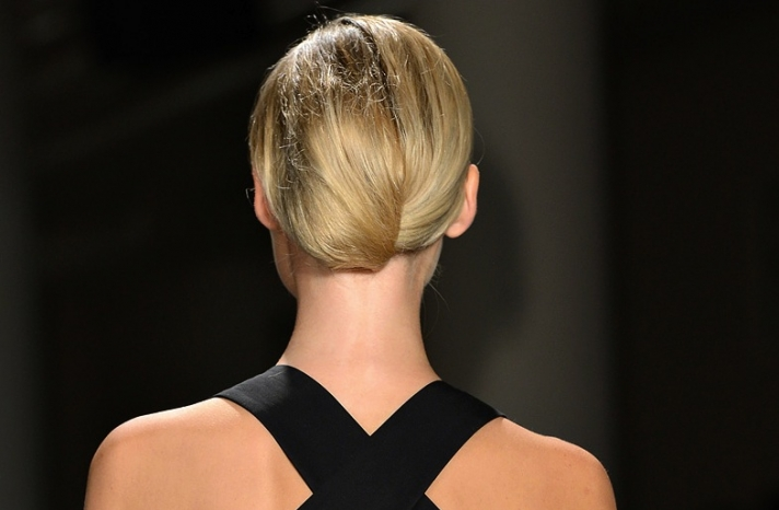 bridal updo wedding hair inspiration fashion week sophie theallet 4