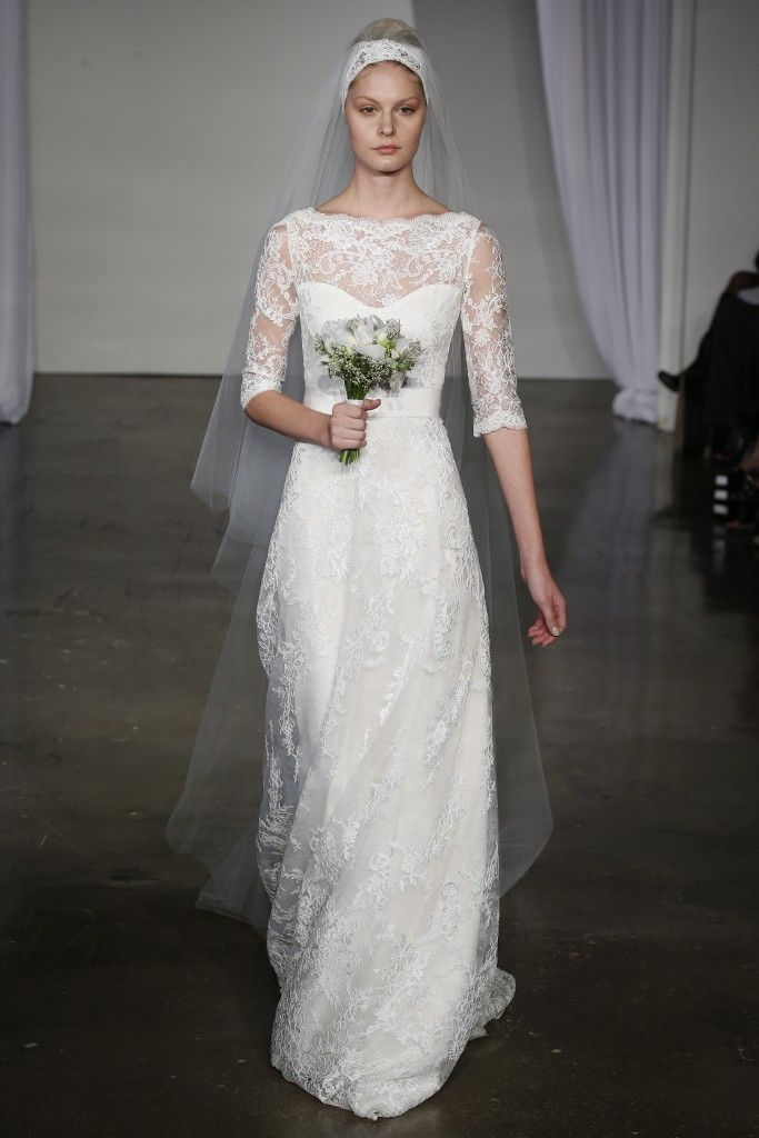 fall 2013 wedding dress trends bridal fashion marchesa 1
