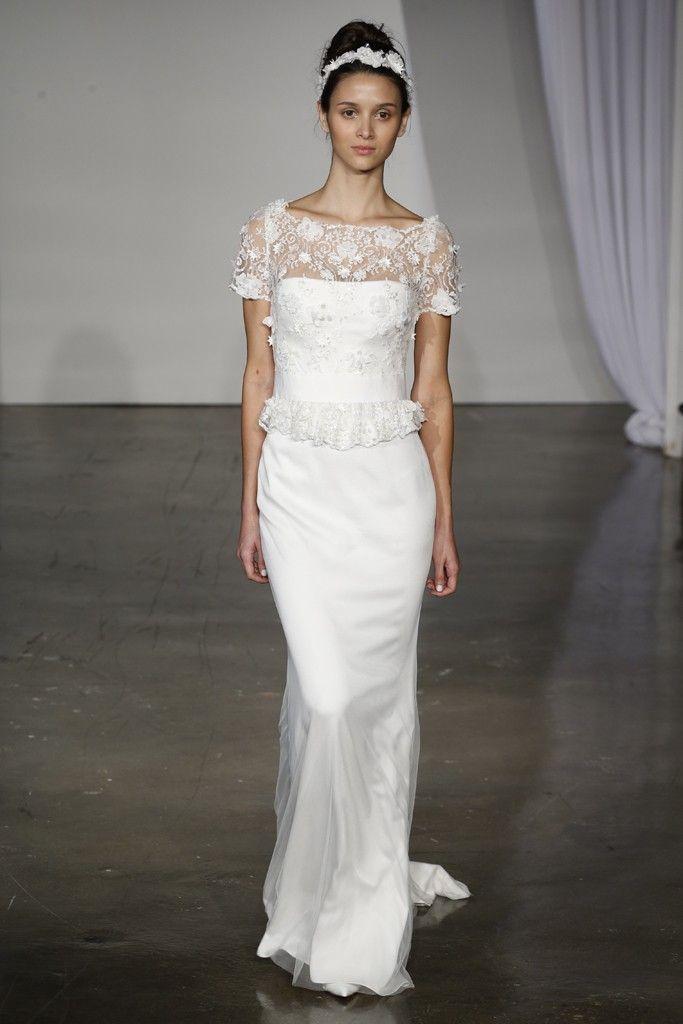 fall 2013 wedding dress trends bridal fashion Marchesa 1