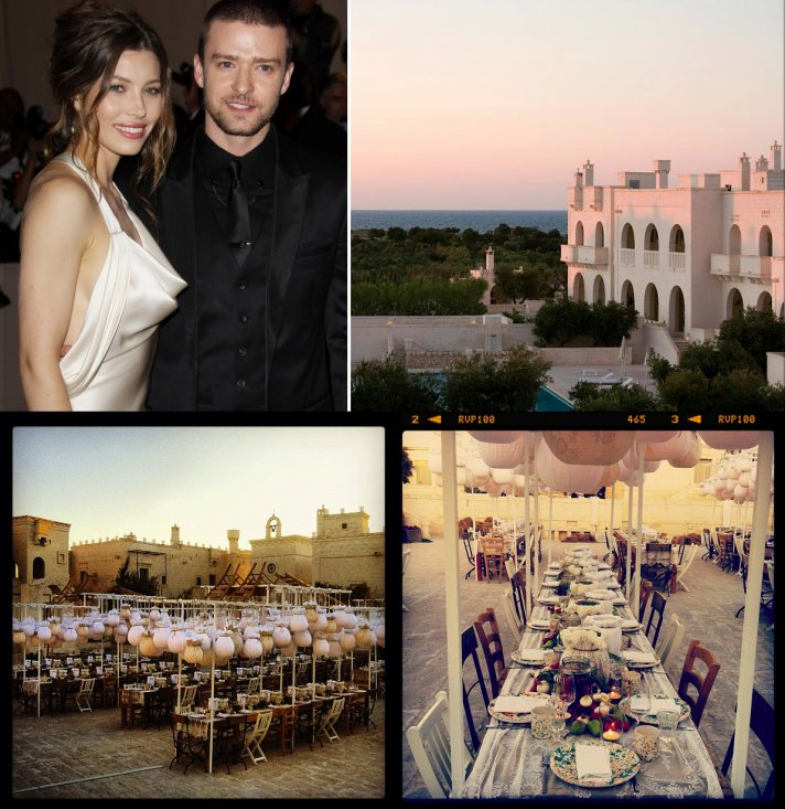 Justin Timberlake And Jessica Biel Tie The Knot! The $6.5M