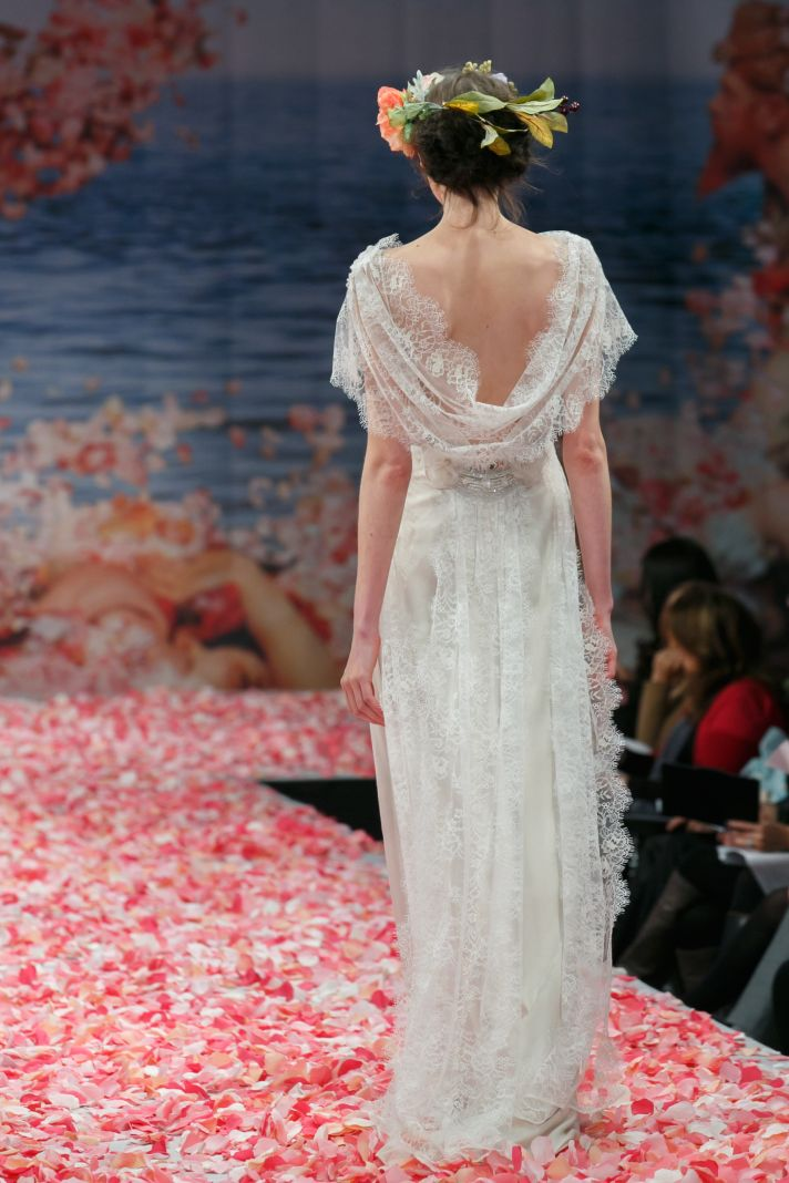2013 wedding dress by Claire Pettibone An Earthly Paradise bridal collection Sonnet
