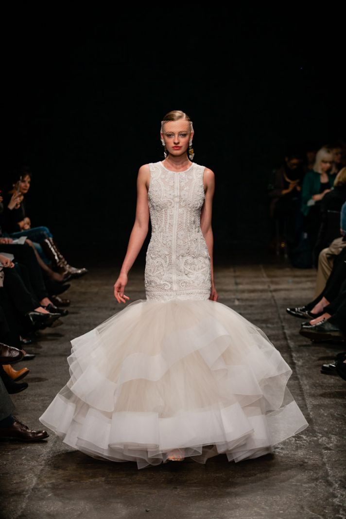 Fall in love with spring 39 13 lazaro bridal gowns onewed for Where to buy lazaro wedding dresses