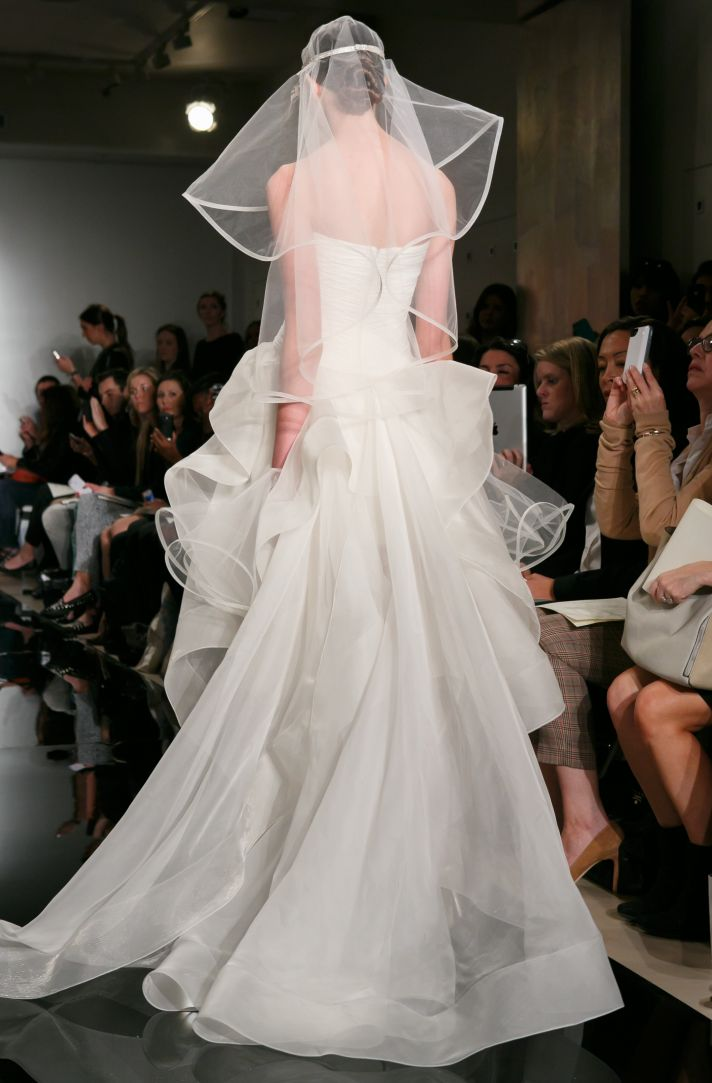 Reem Acra wedding dress Fall 2013 bridal The IT Dress