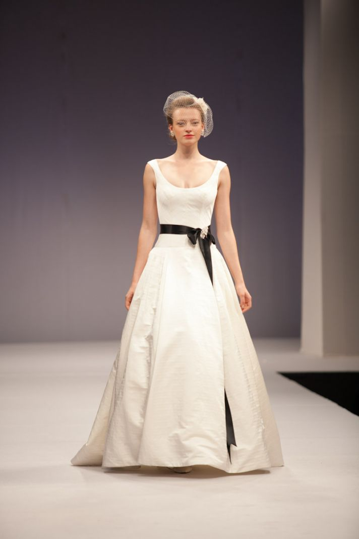Anne Barge wedding dress Fall 2013 bridal Brigitte