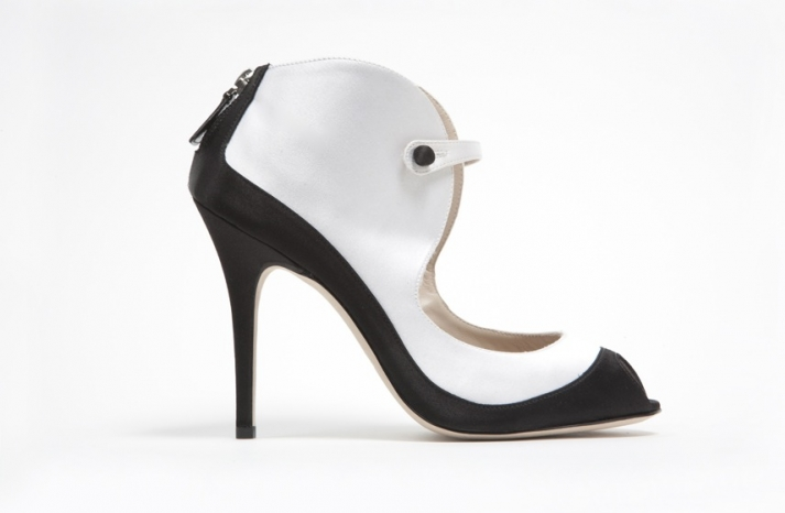 wedding shoes by monique lhuillier Spring 2013 bridal heels 11