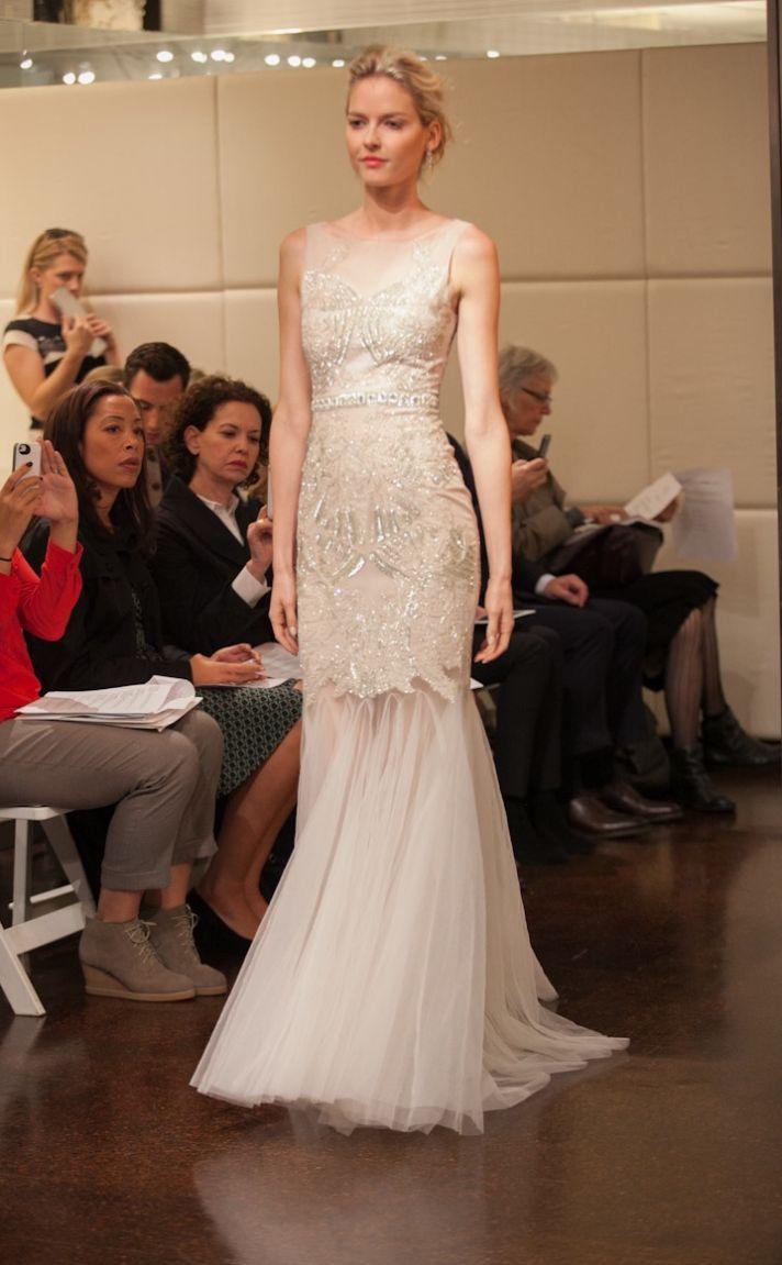 Fall 2013 wedding dress Badgley Mischka bridal gowns Pisces