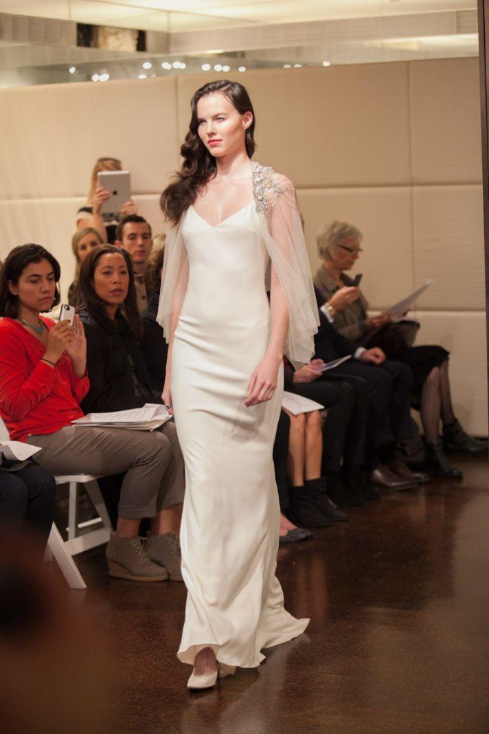 Fall 2013 wedding dress Badgley Mischka bridal gowns Cordelia