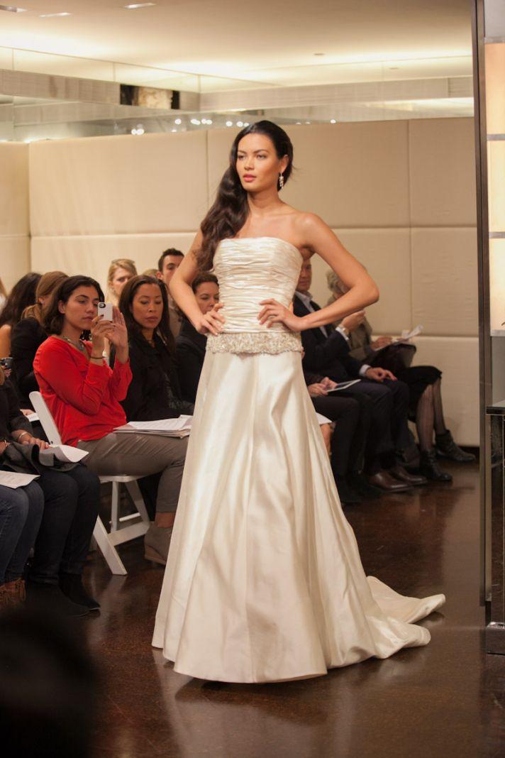 Fall 2013 wedding dress Badgley Mischka bridal gowns Celestia 2 piece 2