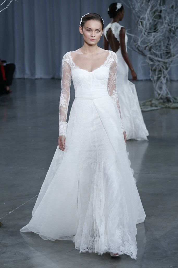 Fall 2013 wedding dress Monique Lhuillier bridal gowns Memory