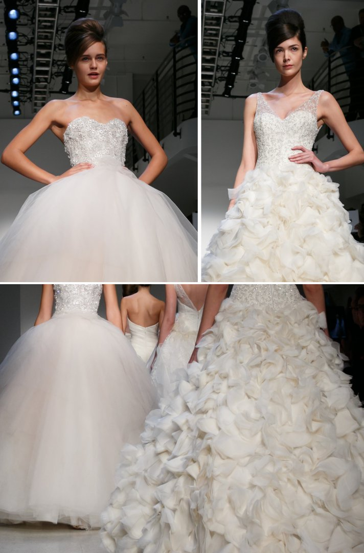 Fall 2013 wedding dresses by Kenneth Pool glamorous bridal gowns 2