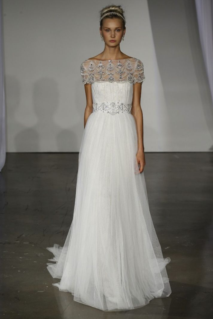 Wedding Hairstyle Trends from Fall 2013 Bridal Market Marchesa