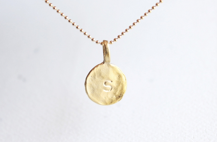 Unique Wedding Gifts for Bridesmaids Initial Jewelry Accessories 11