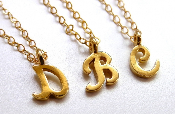 Unique Wedding Gifts for Bridesmaids Initial Jewelry Accessories 21