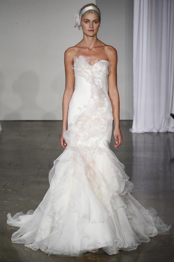 Fall 2013 wedding dress Marchesa bridal gowns 1