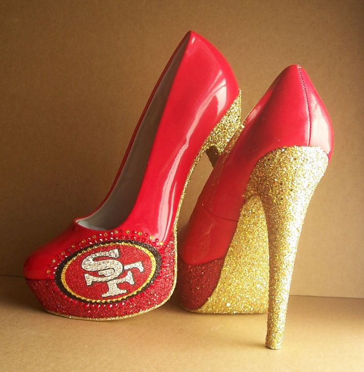 Funky Wedding Shoes For Sports Loving Brides