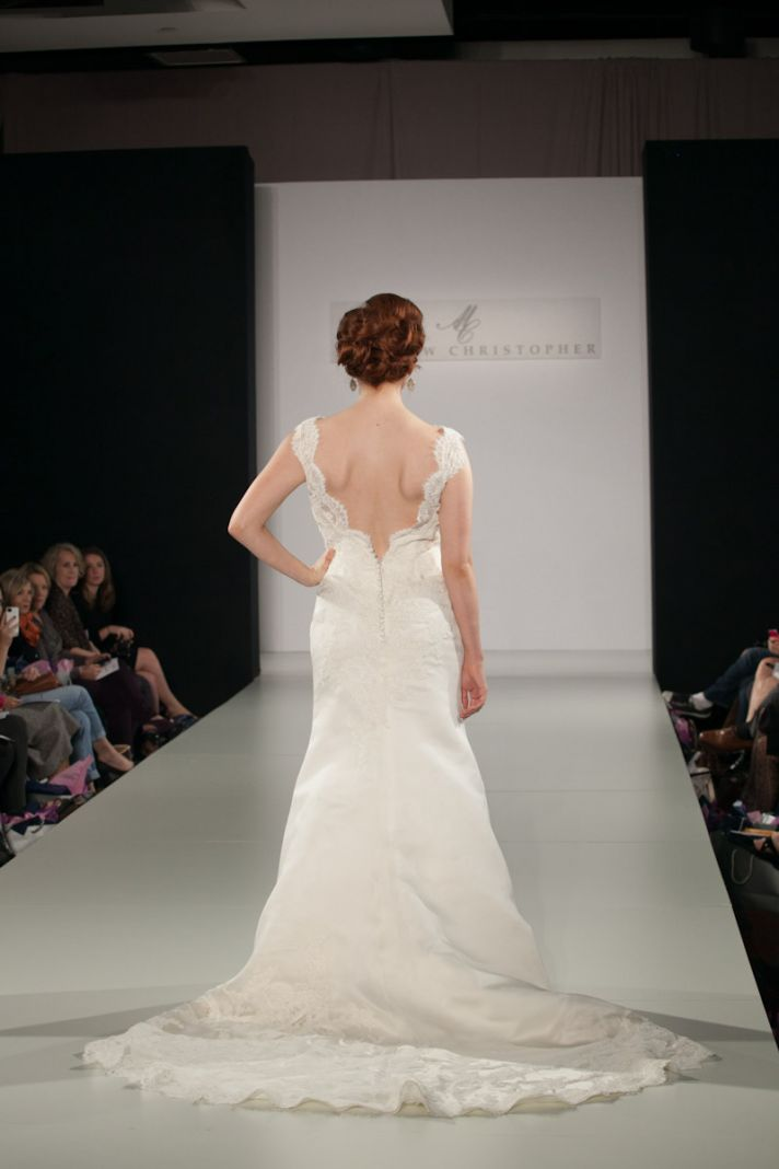 Fall 2013 wedding dress by Matthew Christopher bridal 6