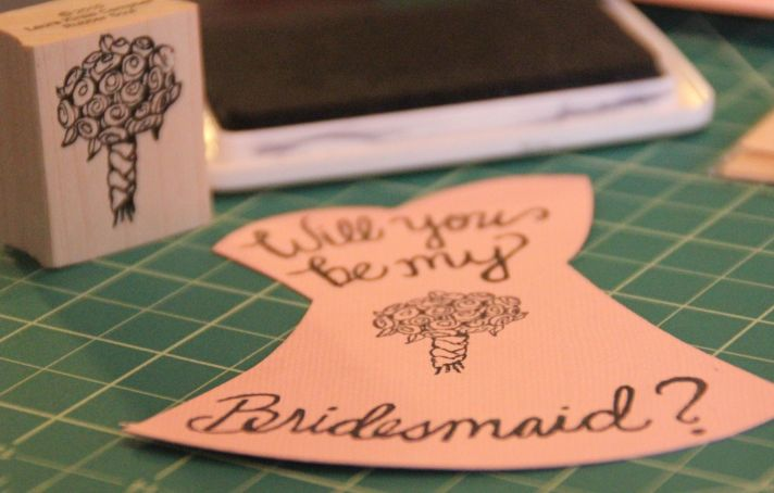 Unique Wedding Ideas to say Will You Be My Bridesmaid 9