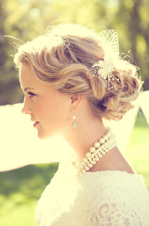 Easy Breezy Bridal Updos Wedding Hair Inspiration 5