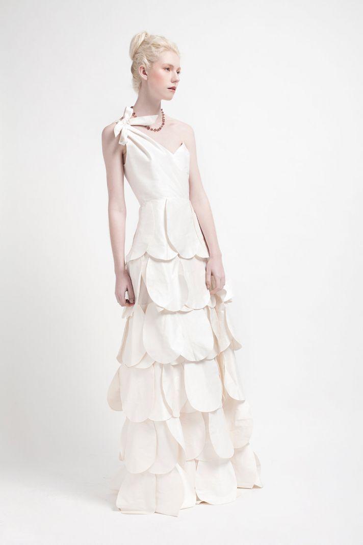 Handmade Wedding Dresses Bridal Designers to Watch Kelsey Genna Zinnia
