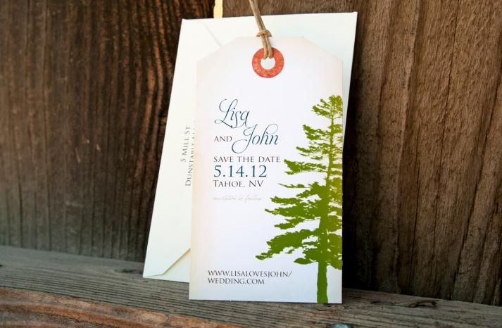Rustic Wedding Ideas Woodland Weddings by Etsy favor tags