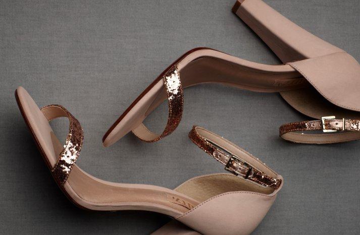 Wedding Accessories Inspiration Shimmery Bridal Heels 3