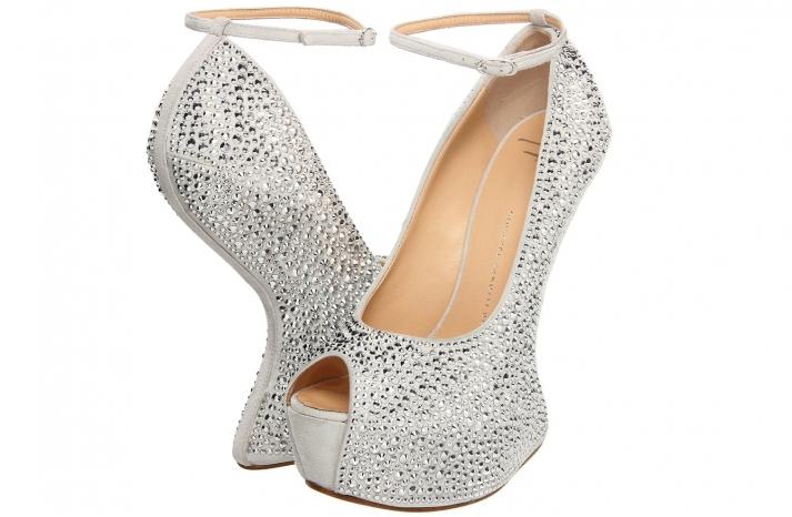 Wedding Accessories Inspiration Shimmery Bridal Heels 10