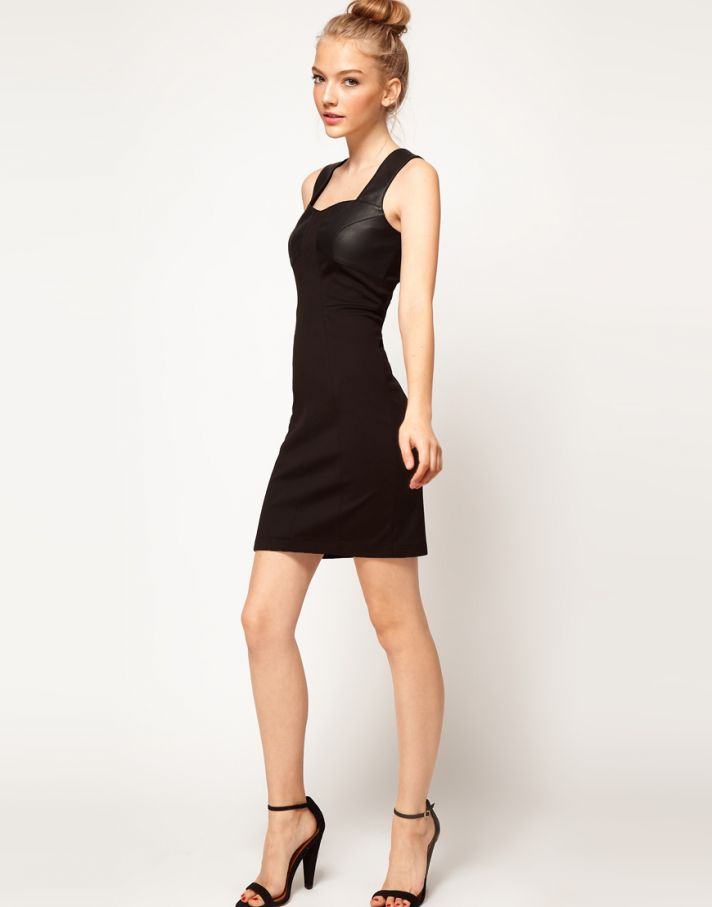Stylish Bridesmaid Dresses from Asos 2013 Bridal Party Trends Leather