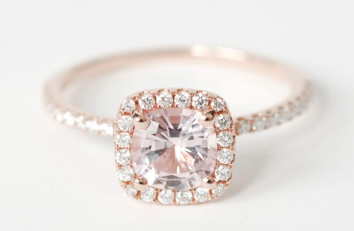 25 Heavenly Halo Engagement Rings