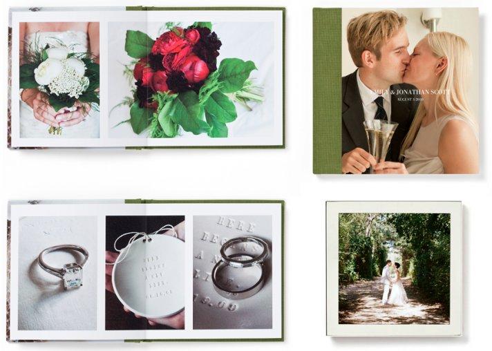 Semi DIY Wedding Projects Keepsake Photo Album