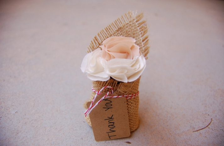 Handmade Wedding Finds for Unique Weddings Cork thank you