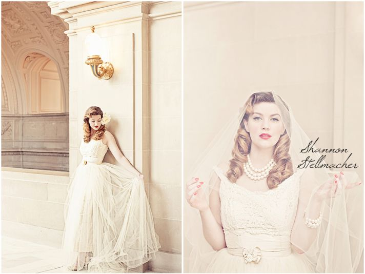 1940s wedding style for vintage brides courthouse wedding