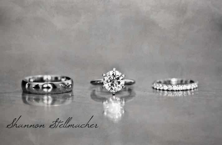 Gorgeous Engagement Ring Wedding Bands photo