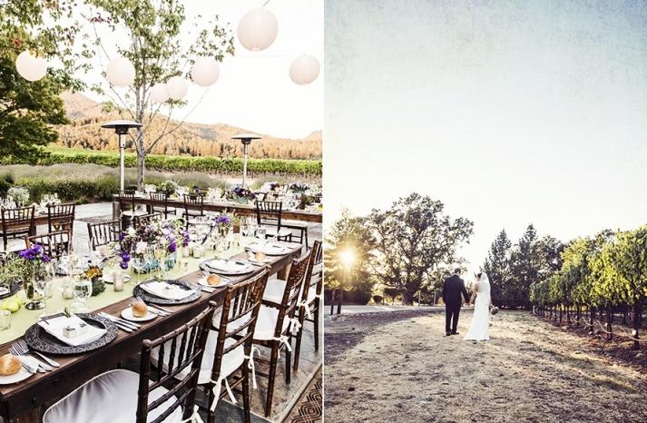 Outdoor Winery Wedding Romantic Venue