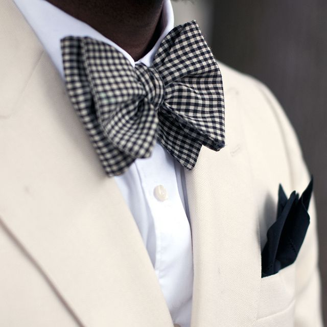 Chequered Bow Style