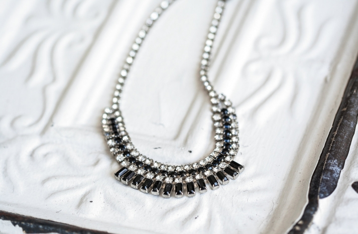 Bridal Statement Necklace Modern Vintage