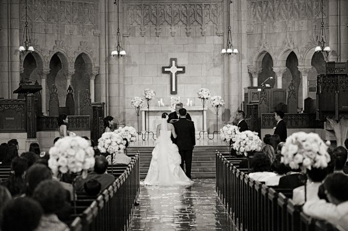 Elegant Church Venue for Classic Ceremony