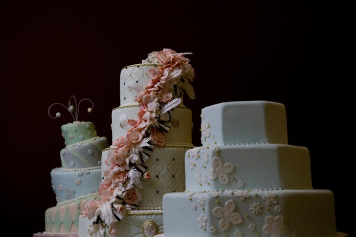Elegant Wedding Cakes too pretty to eat