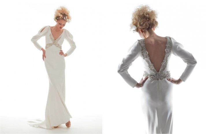 Elizabeth Fillmore Wedding Dress Spring 2013 Bridal Arielle