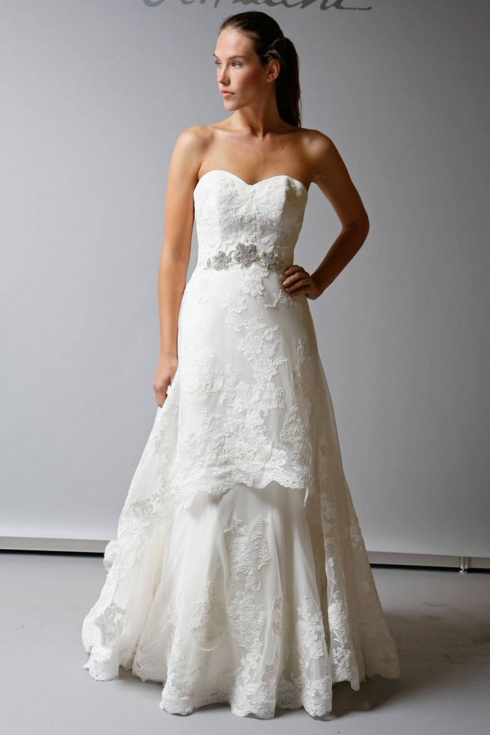 2013 Wedding Dress St Pucchi Bridal sweetheart mermaid