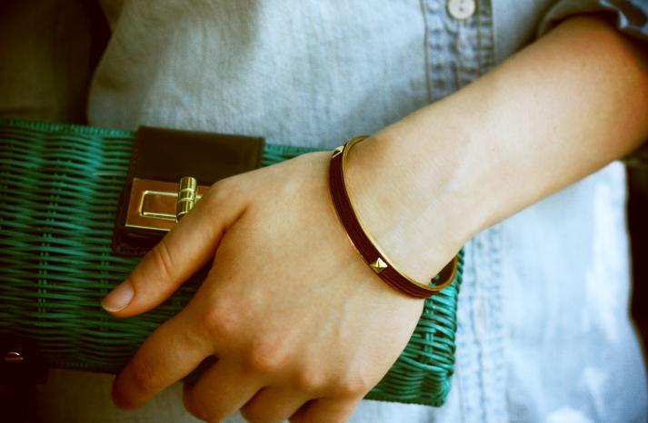 DIY bracelet for brides or bridesmaids