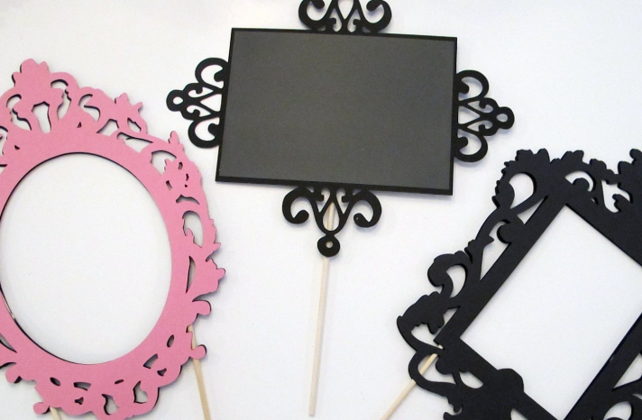 Ornate Frames for Wedding Photo Booth