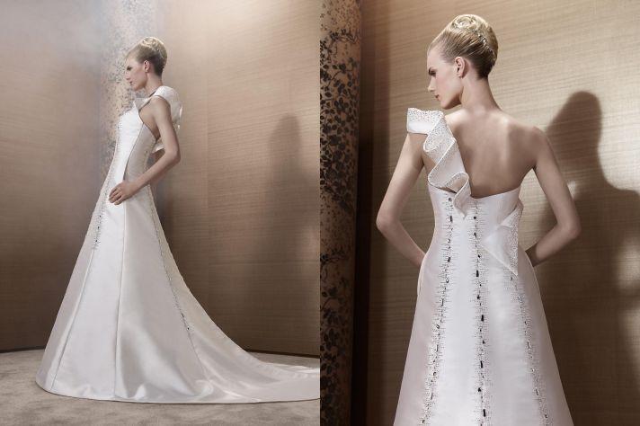 2013 Wedding Dress by French Bridal Designer Elisabeth Barboza kh56