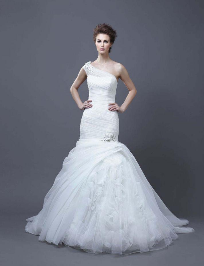 2013 Wedding Dress by Enzoani Bridal Hadara