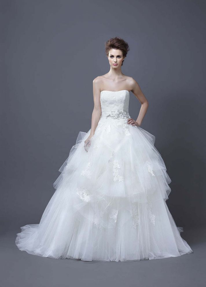 2013 Wedding Dress by Enzoani Bridal Hadil